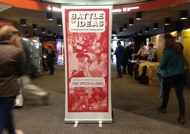 En la Batalla de las ideas se intenta dar respuesta a cuestiones clave. | C.F.