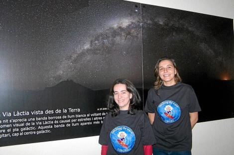 Alicia Sintes y Sara Gil, físicas e investigadoras de la UIB |Foto: E.Soto