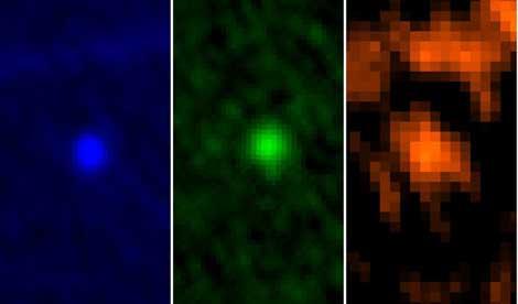El asteroide 'Apophis' captado por el telescopio Herschel. | ESA