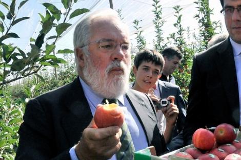 El ministro de Agricultura, Arias Cañete. | Diego Mayor