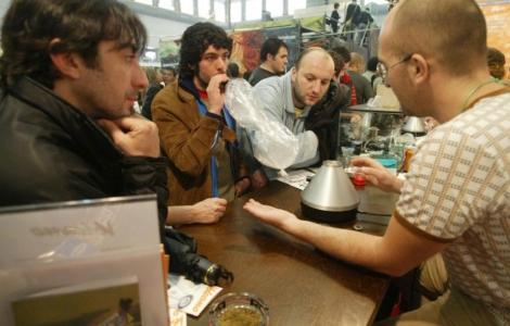 Imagen de archivo del festival Spannabis para consumidores. | Rudy