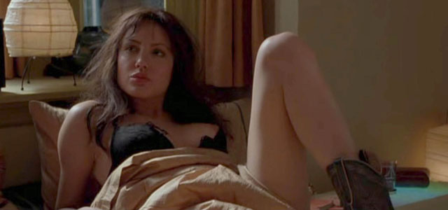 La actriz, en una escena de la película ' Mojave Moon'.   Gtres