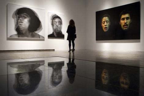 Parte de la exposición en el Centro de El Carmen de Valencia. | Benito Pajares