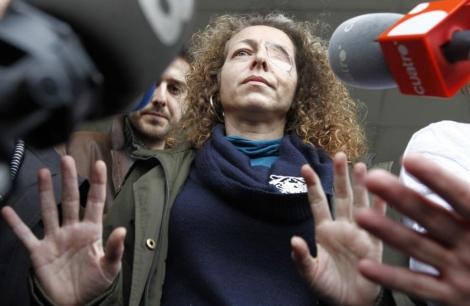 Ester Quintana, paradigma del debate sobre las bolas de goma. | D. Umbert
