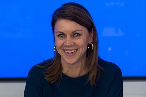 La secretaria general del PP, María Dolores de Cospedal. | Foto: Alberto Cuéllar.