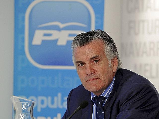 Luis Bárcenas cuando era tesorero del PP en 2009. | Bernardo Díaz