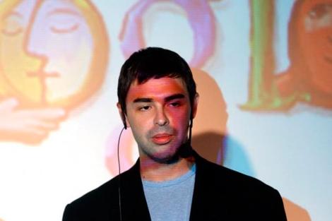 Larry Page, confundador de Google, en la presentación del buscador en España.