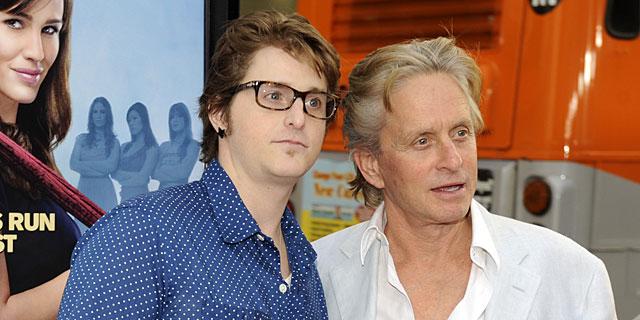 Cameron y Michael Douglas, en una imagen de archivo.   Gtres