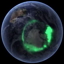 Aurora austral observada desde satélite | NASA