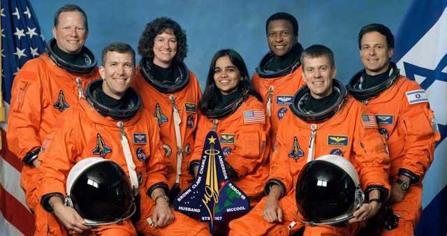 Los siete astronautas del 'Columbia' murieron en el accidente.  NASA