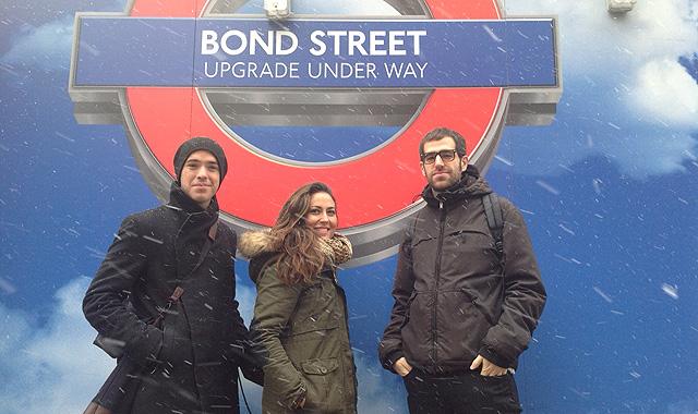 Pablo Amade, Belén Balado y Manu Sainz de los Terreros, fundadores de Círculo Creativo London. | C.F.