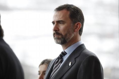 Felipe de Borbón, durante un acto reciente. | Jorge Peteiro