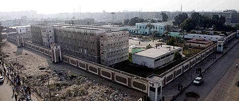 La cárcel donde están los acusados y que ha tratado de ser asaltada. | Afp