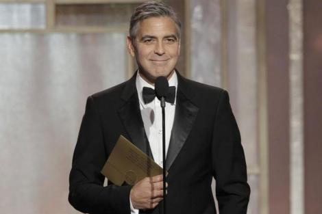 George Clooney en los Globos de Oro.| Efe