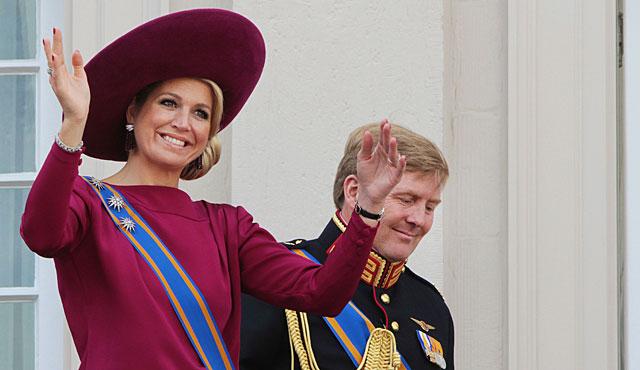 Giollermo y Máxima de Holanda, el año pasado en la apertura del Parlamento. | Gtres