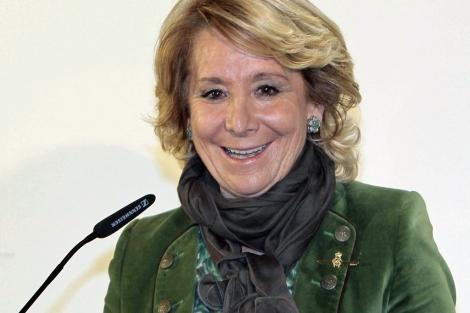 Esperanza Aguirre. | Foto: Efe