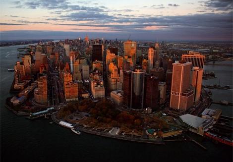 Imagen de la bahía de Manhattan. | Yann Arthus-Bertrand