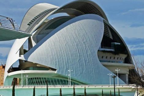 El Palau de les Arts, en una imagen reciente. | Compromís