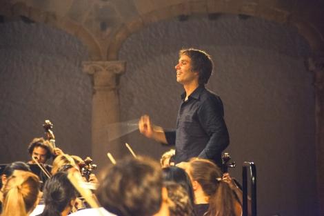 El director de la World Orchestra, Josep Vicent. | E.M.