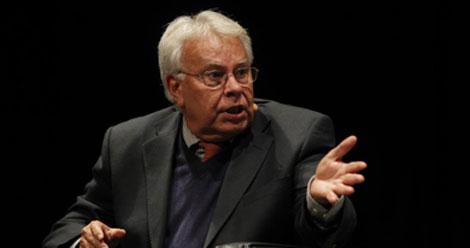 Felipe González, el pasado mes de noviembre. | Antonio Heredia