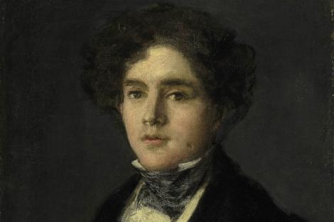 Mariano Goya, retratado por su abuelo cuando tenía 21 años.