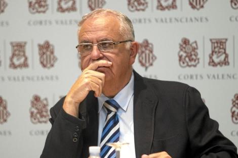 El presidente de las Cortes Valencianas, Juan Cotino. | Benito Pajares
