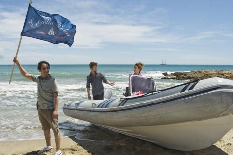 En esta tercera temporada, los tripulantes del Estrella Polar pisaron al fin tierra. | Antena 3