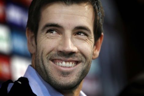David Albelda, capitán del Valencia CF. | José Cuéllar