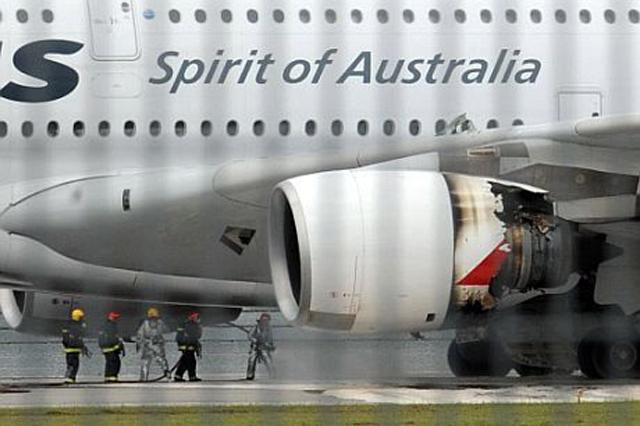 Los problemas del A380 comenzaron con el motor Trent 900. | Afp