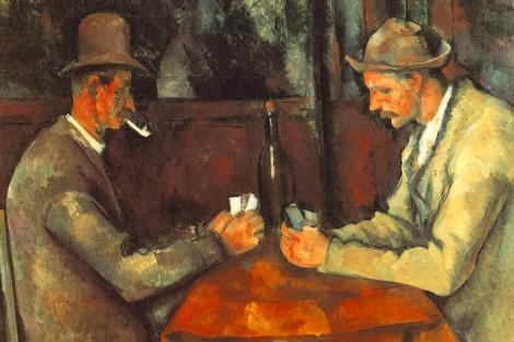 'Los jugadores de cartas', de Paul Cézanne.