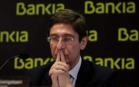 Goirigolzarri, máximo responsable de Bankia, la mayor entidad nacionalizada. | E.M.
