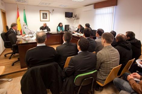 Los musulmanes, durante el juicio en Córdoba. | Madero Cubero