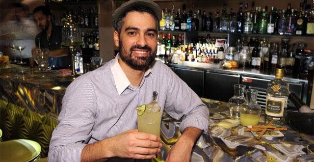 Diego Cabrera presentará este cóctel de Tanqueray Malacca en Londres.   Bernardo Díaz.