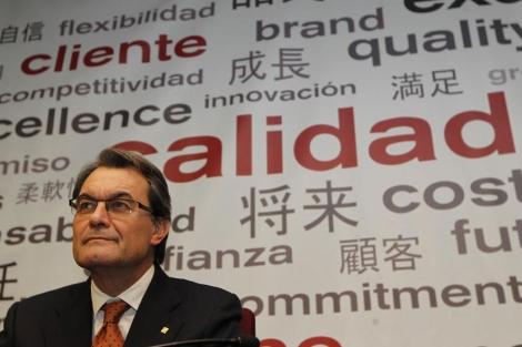 El presidente de la Generalitat, Artur Mas. | Jordi Soteras