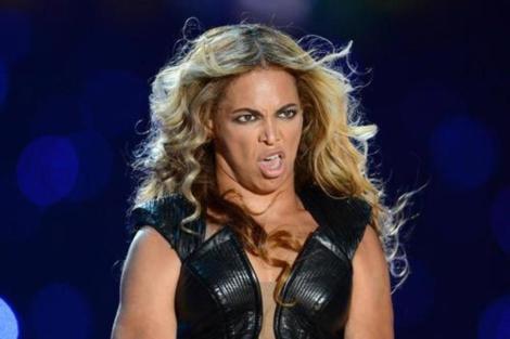 Una de las imágenes de Beyoncé que ha desatado la polémica.