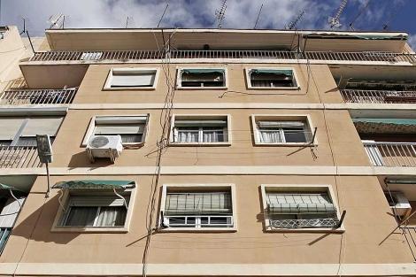 La casa en la que vivía Mohamed Echaabi. | Efe