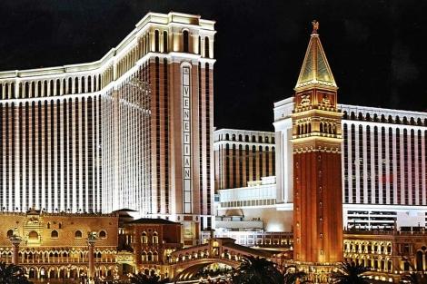 Imagen de varios casinos de Sheldon Adelson en Las Vegas. | E. M.