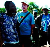 Mineros negocian con intermediario chino. | J. F. F.