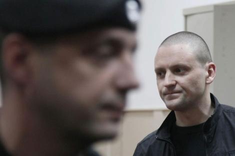 Sergei Udaltsov, líder del frente izquierdista ruso. | Efe