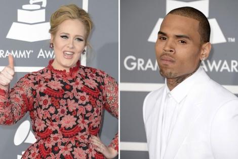 Adele Planta Cara A Chris Brown En Los Grammy Cultura Elmundo Es