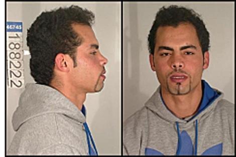 Ficha policial de Mohamed Echaabi. | Ministerio del Interior