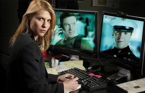 Carrie Mathison, personaje principal de la serie 'Homeland'.