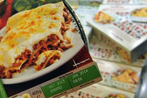 Uno de los platos precocinados de la marca blanca de Tesco.   Foto: Efe