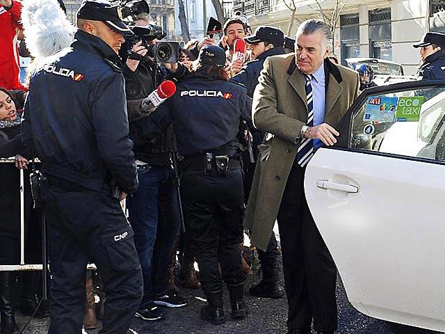 El ex tesorero del PP Luis Bárcenas, hace unos días, llegando a la Fiscalía Anticorrupción.   EL MUNDO
