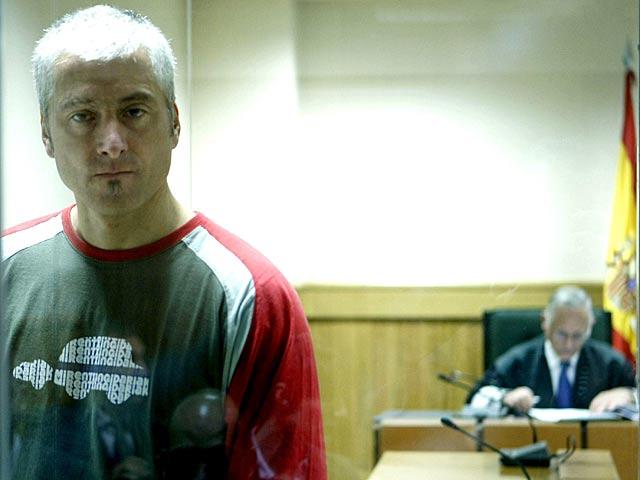 El ex dirigente de ETA 'Txapote' durante un juicio en noviembre. | Chema Moya / Efe