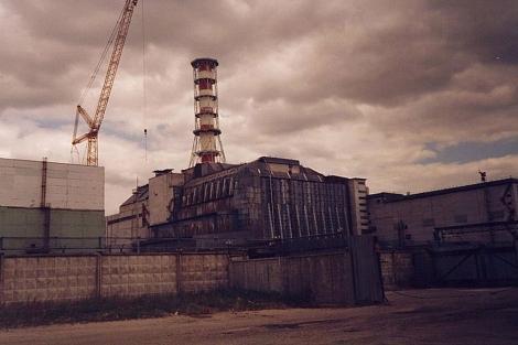 La central nuclear de Chernobil, en 1994.   F, Herranz