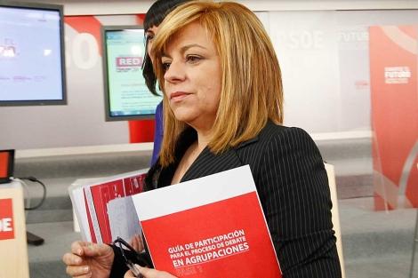 La vicesecretaria general del PSOE, Elena Valenciano. | Foto: Inma Mesa.