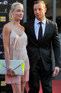 Imagen de Pistorius y su novia