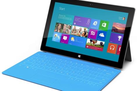 La tableta Surface de Microsoft.| Efe