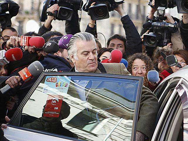Luis Bárcenas, tras declarar en la Fiscalía Anticorrupción el pasado día 6. | Paul Hanna / Reuters